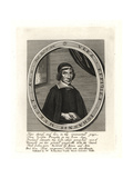 John Mercot, Johanis Murcot, Presbyterian Preacher Giclee Print by William Faithorne
