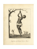 Flagellation of a Female Samboe Slave Giclee Print by John Gabriel Stedman