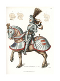 Maximilian I, Holy Roman Emperor, in Suit of Armor Giclee Print by Jakob Heinrich Hefner-Alteneck