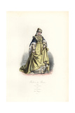 Duchess of Bavaria, 1500 Giclee Print by Polydor Pauquet