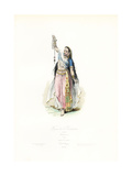 Indian Woman, 18th Century Giclee Print by Hippolyte Pauquet