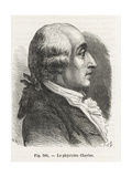 Jacques Charles, Pioneer Balloonist Giclee Print