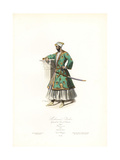 Mohammed Ibrahim, General of the King of Golconda, 17th Century Giclee Print by Polydor Pauquet