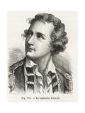 Captain Vincenzo Lunardi, Italian Balloonist Pioneer Giclee Print