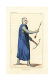 Infantry Crossbowman, 12th Century Giclee Print by Leopold Massard