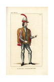 Jean Le Bon, John II, King of France, Military Costume Giclee Print by Leopold Massard