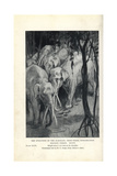 Gomphotherium Species Giclee Print by H.R. Knipe