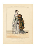 Hungarian Lady of Rank in National Costume, 19th Century Giclee Print by Thomas Hailes Lacy