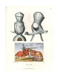 German Tournament Armor from the First Half of the 16th Century Giclee Print by Jakob Heinrich Hefner-Alteneck