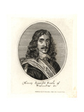 Henry Somerset, Earl of Worcester Giclee Print by Peter Stent