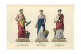Jupiter, Juno and Ceres Giclee Print by Leonard Defraine