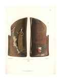 Knight's Shield of Painted and Gilded Wood Giclee Print by Jakob Heinrich Hefner-Alteneck