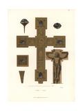 Crucifix, 11th Century Giclee Print by Jakob Heinrich Hefner-Alteneck