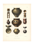 Medieval Pottery Giclee Print by Jakob Heinrich Hefner-Alteneck