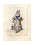 Costume of a Young Lady of Finland, 19th Century Giclee Print by Thomas Hailes Lacy