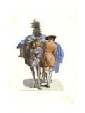 Equestrian Servant, 18th Century Giclee Print by Edmond Lechevallier-Chevignard