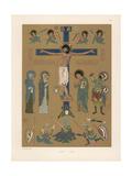 Medieval Crucifixion Scene Giclee Print by Jakob Heinrich Hefner-Alteneck