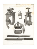 Surgical Equipment from the 19th Century Giclee Print by Wilson Lowry