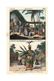 Chamorro Natives of Agagna (Hagatna), Guam, Distilling Alcohol Giclee Print