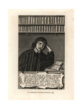 William Cartwright, Poet Giclee Print