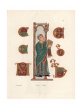 9th Century Priest Giclee Print by Jakob Heinrich Hefner-Alteneck