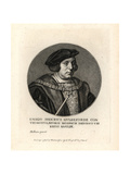 Sir Henry Guildford, Comptroller to King Henry VIII Giclee Print by Hans Holbein the Younger