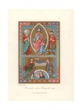 Henry II, Holy Roman Emperor, and Wife Cunigunde Giclee Print by Jakob Heinrich Hefner-Alteneck