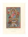 Henry II, Holy Roman Emperor, and Wife Cunigunde Giclee Print by Jakob Heinrich Hefner-Alteneck