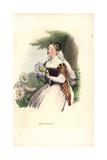 Marguerite Daisy Flower Fairy, Argyranthemum Frutescens Giclee Print by Louis Lassalle