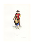 Polish Gentleman, 17th Century Giclee Print by Polydor Pauquet