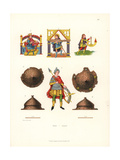 Illuminated Figures Giclee Print by Jakob Heinrich Hefner-Alteneck