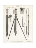 Pneumatics- Marine, Caswell's and Rowning's Barometers Giclee Print by Wilson Lowry