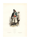 Man of Valencia, Spain, 1850 Giclee Print by Polydor Pauquet