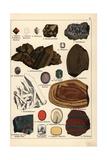 Precious Stones and Crystals Including Quartz, Amethyst, Etc Giclee Print