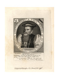 George Carleton, Bishop of Llandaff and Chichester, 1559–1628 Giclee Print by Friedrich Van Hulsen