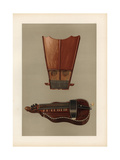Bell Harp and Hurdy Gurdy Giclee Print by Alfred James Hipkins
