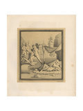 Painting of Theseus Abandoning Ariadne on the Island of Naxos Giclee Print