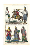 Burmese Nobleman, Cavalryman, Infantry, Minister and Wife Giclee Print