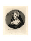 Lady Guildford, Wife of Sir Henry Guildford Giclee Print by Wenceslas Hollar