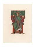 Henry II, Holy Roman Emperor Giclee Print by Jakob Heinrich Hefner-Alteneck