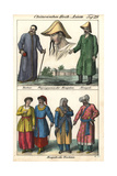 Mongol Men and Women, Physiognomy of a Mongol Giclee Print