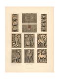 Medieval Reliquaries Giclee Print by Jakob Heinrich Hefner-Alteneck