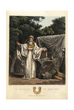An Arch Druid in His Judicial Habit, Pre-Roman Era Giclee Print by Charles Hamilton Smith