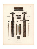 Swords from the 10th Century Giclee Print by Jakob Heinrich Hefner-Alteneck