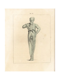Bronze Statue of Priapus-Hermes Giclee Print by A. Delvaux