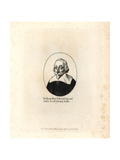 William Fines, Viscount of Sey and Seale Giclee Print by Wenceslas Hollar