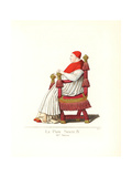 Pope Sixtus IV, (1414-1484), Seated on a Throne Giclee Print by Paul Mercuri