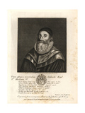 Richard Lloyd, Vicar of Sunnig, Father of Bishop Lloyd Giclée-Druck von Robert Vaughan