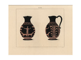Etruscan Vase from Nola Giclee Print by A. Delvaux