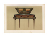 Dulcimer, a Variety of Psaltery or Qanun Played with Hammers Giclee Print by Alfred James Hipkins